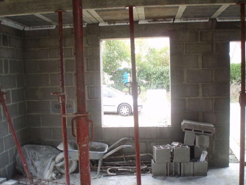 notre maison kerbea le rdc est fini ou presque. Black Bedroom Furniture Sets. Home Design Ideas